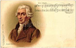 Joseph Haydn, Gebrüder Obpacher Serie 45. No. 18323. litho (cut)