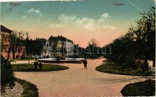 Sopron, Deák tér (vágott / cut)