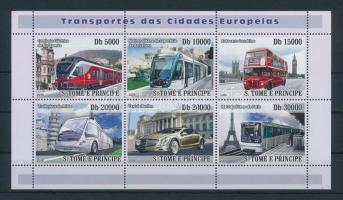 Transport minisheet, Közlekedés kisív