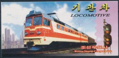 2002 Mozdonyok bélyegfüzet Mi 4538 - 4542