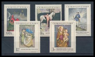 Works of art in the National Gallery set, Műalkotások a Nemzeti Galériában sor