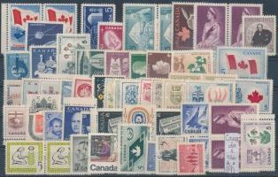Kanada postatiszta kis tétel 1 stecklapon