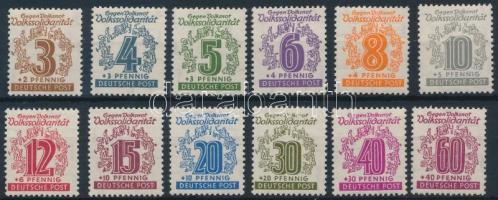 1946 Szolidaritás sor Mi 138-149