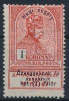 1914 Hadisegély (I) 1K