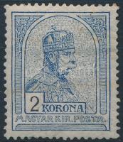 1906 Turul 2K (120.000) (ráncos, foltos / craeses, stain)