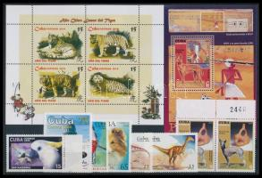 1999-2010 8 stamps + 2 blocks, 1999-2010 8 klf bélyeg + 2 db blokk
