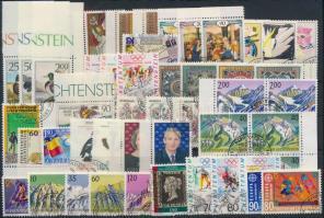 1990-1994 50 stamps + 2 blocks, 1990-1994 50 db bélyeg, közte teljes sorok, ívszéli értékek, összefüggés + 2 db blokk