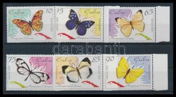 Indigenous butterflies margin set, Őshonos lepkék ívszéli sor