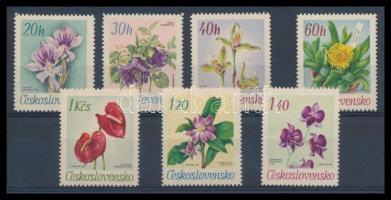Virágok a Botanikus kertben sor, Flowers in the botanical garden set