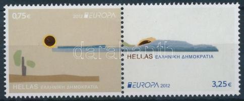 Europa CEPT, Attractions set in pair, Europa CEPT, Látnivalók sor párban