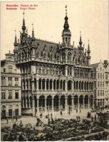 Brussels, Bruxelles; Kings House, market (17,8 cm x 13,6 cm)