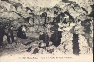 Aix-les-Bains, Bottom of the cave of the sulphurous waters