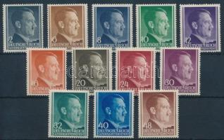 Generalgouvernement 1941 Hitler sor Mi 71-82