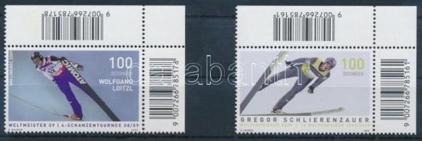 2009 Síugrók ívsarki sor Mi 2831-2832