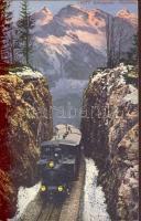 Brünigbahn, Passhöhe