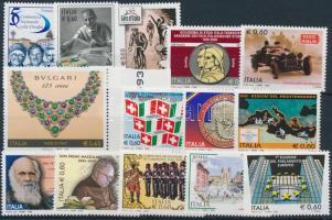 14 diff stamps, 14 db klf bélyeg
