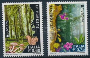2011 Europa CEPT, az erdő sor Mi 3443-3444