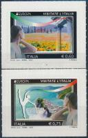 2012 Europa CEPT, Látnivalók öntapadós sor Mi 3536-3537
