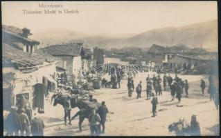 Skopje, Mazedonien, Türkischer Markt in Uesküb / Turkish market