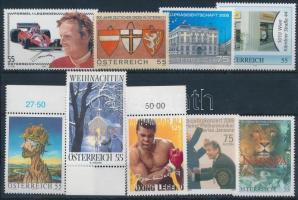 2005-2006 9 stamps, 2005-2006 9 klf bélyeg