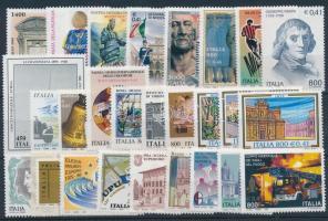 1999 27 db klf bélyeg, közte teljes sorok és öntapadós érték
