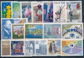 1999-2000 18 db klf bélyeg, közte sorok