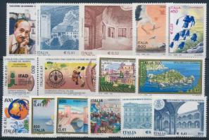 2000-2001 16 db klf bélyeg, közte összefüggés