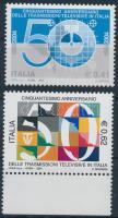 2004 50 éves az olasz televízió sor Mi 2943-2944