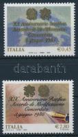 2005 Vatikán és Olaszország sor Mi 3042-3043