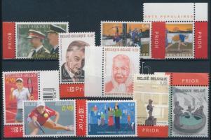2003 10 klf bélyeg, közte teljes sorok, ívszéli és ívsarki értékek