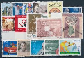 2007 16 db klf bélyeg, közte ívszéli értékek