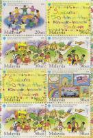 2003 Gyermeknap bélyegfüzet Mi 1225 C-1228 C