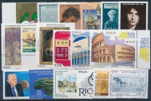2008 18 db klf bélyeg, közte ívszéli értékek