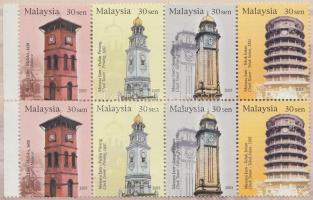 Clock towers stamp-booklet, Óratornyok bélyegfüzet