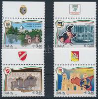 2008 Olasz régiók ívszéli sor Mi 3244-3247