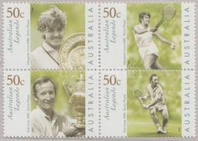 2003 Tenisz sor négyestömbben Mi 2200-2203 díszcsomagolásban