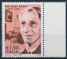 2009 Luigi Sturzo ívszéli bélyeg Mi 3331