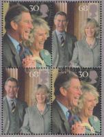 2005 Charles herceg és Camilla Parker blokk Mi 24