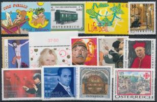 2002-2005 13 stamps, 2002-2005 13 klf bélyeg