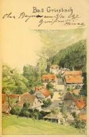 1897 Bad Griesbach im Rottal, litho