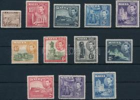 1938-1943 12 klf Forgalmi bélyeg