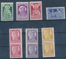 1929 Szent Istvn (II) sor párokban + 1930 Szent Imre sor (32f foltos) (5.400)