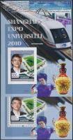 2010 World Expo in Shanghai perf and imperf block, 2010-es sanghaji világkiállítás fogazott és vágott blokk