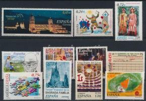 2001-2002 11 stamps, 2001-2002 11 db bélyeg