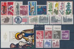 1978 23 klf bélyeg + 1 blokk
