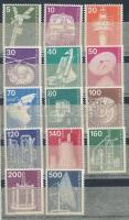 1975 Ipar és technológia sor Mi 494-507 (Mi EUR 20,-)