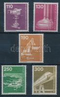 1982 Ipar és technológia sor Mi 668-672 (Mi EUR 18,-) (Mi 669 betapadás)