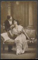 1918 Tábori posta képeslap M. KIR. BUDAPESTI 30. HONVÉD GYALOG (EZRED) + TP 414