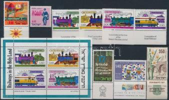 1954-1977 9 stamps + 1 block, 1954-1977 9 db bélyeg + 1 db blokk