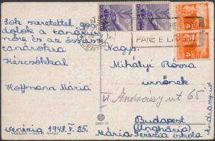 1948 Képeslap Budapestre